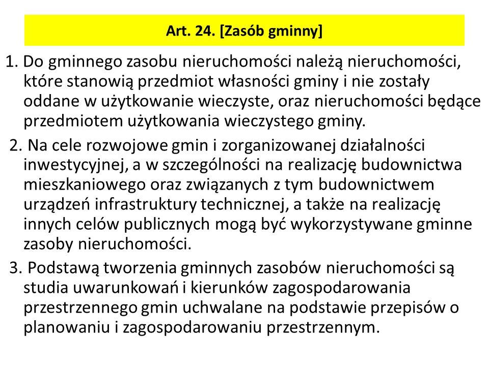 Art. 24. [Zasób gminny]